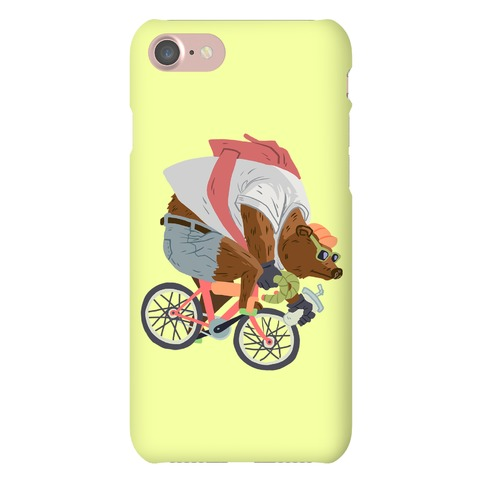 Fixed Gear Bear Phone Case