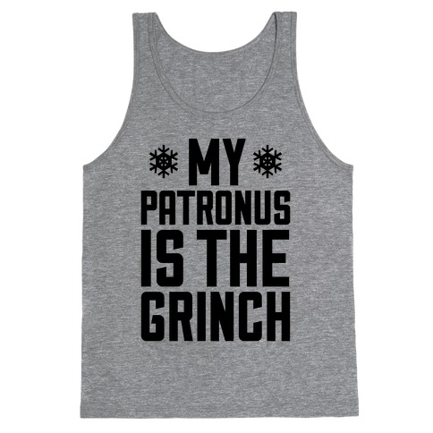 My Patronus Is The Grinch Tank Top