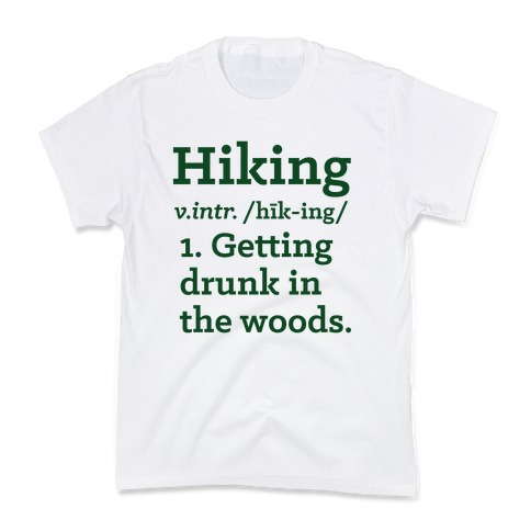 Hiking Definition Kids T-Shirt
