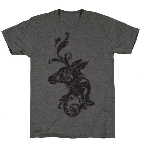 Decorative Deer Head T-Shirt