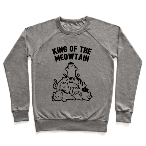 King of the Meowtain Pullover