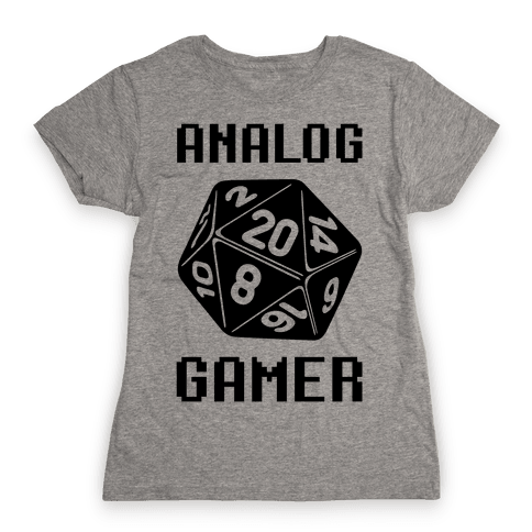 Analog Gamer Womens T-Shirt