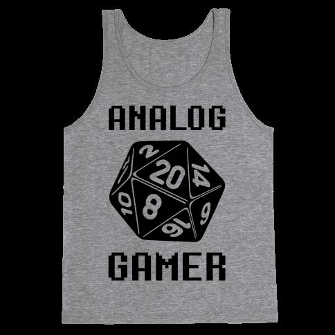 Analog Gamer Tank Top