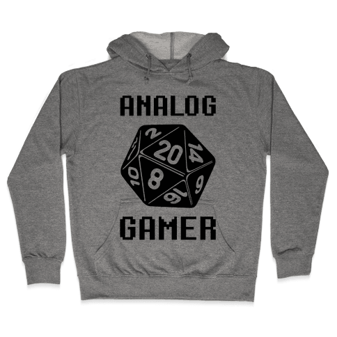 Analog Gamer Hooded Sweatshirt