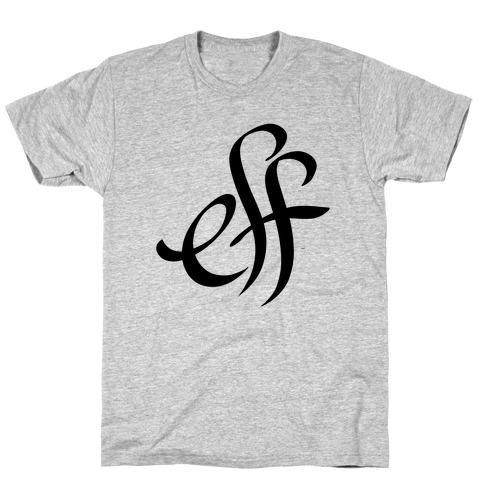 Eff Mens T-Shirt