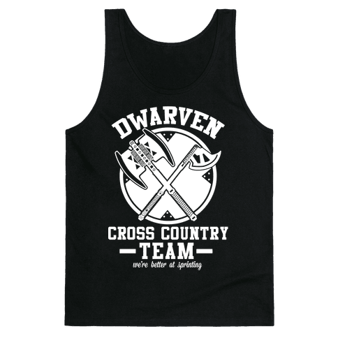 Dwarven Cross Country Team Tank Top