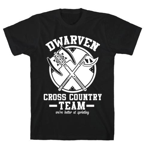 Dwarven Cross Country Team T-Shirt