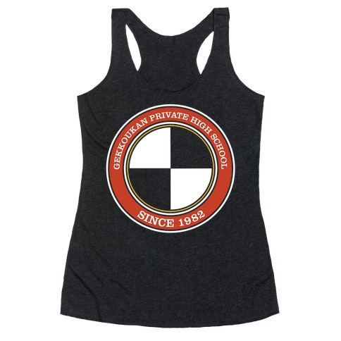 Gekkoukan Private High School Racerback Tank Top