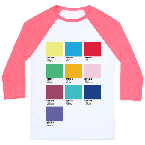 Magical Girl Color Swatch Parody