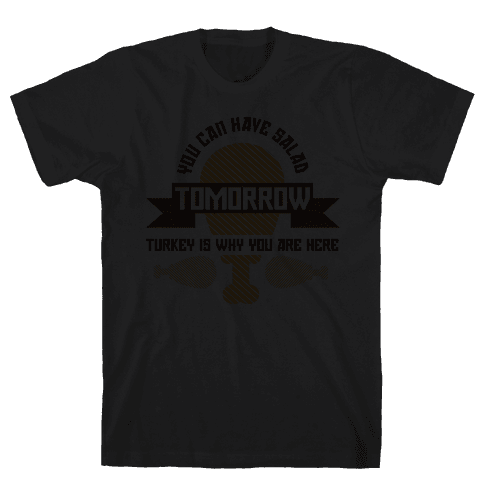 Salad Tomorrow (dark) Mens T-Shirt