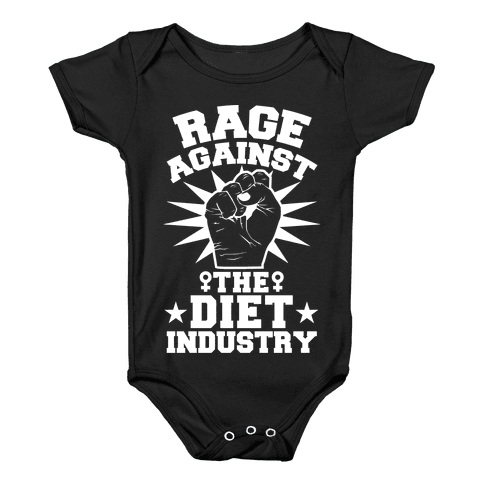 Rage Against the Diet Industry Baby Onesy