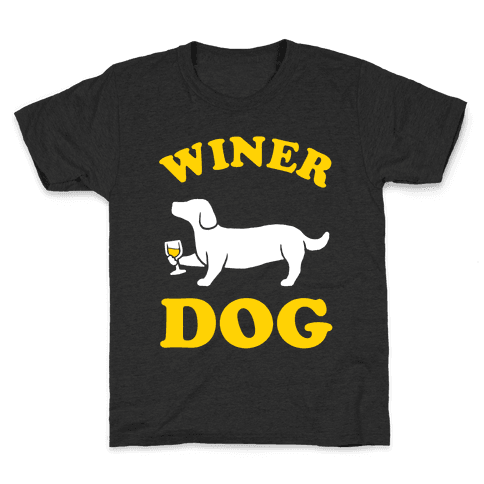 Winer Dog Kids T-Shirt