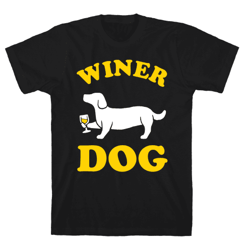 Winer Dog Mens T-Shirt