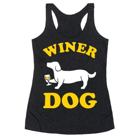 Winer Dog Racerback Tank Top