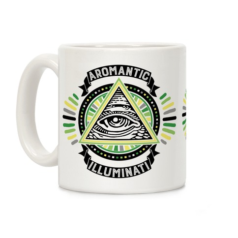 Aromantic Illuminati Coffee Mug