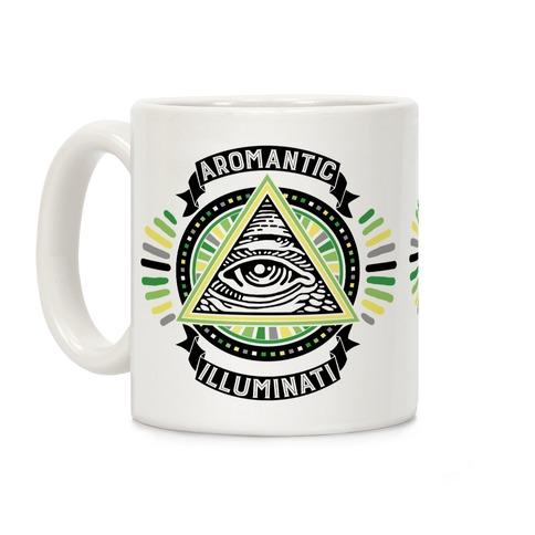 Aromantic Illuminati Coffee Mug