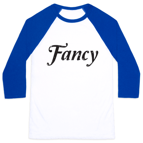 My Fancy Shirt Baseball Tee