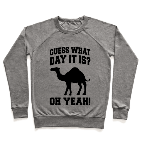 Guess What Day it is? (Hump Day Oh Yeah) Pullover