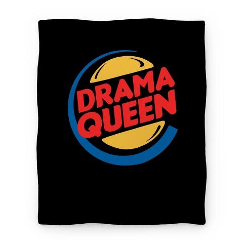 Drama Queen Burger Parody Blanket