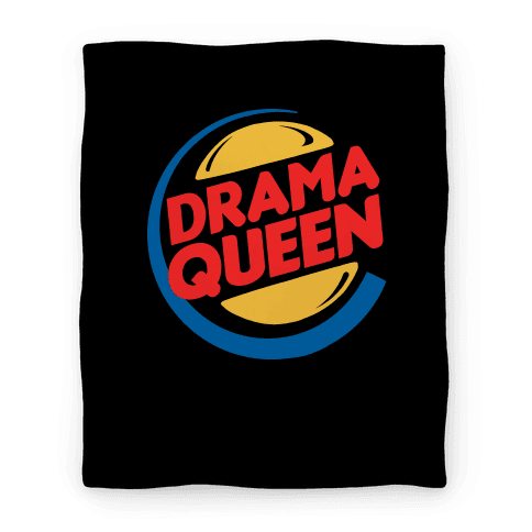 Drama Queen Burger Parody Blanket