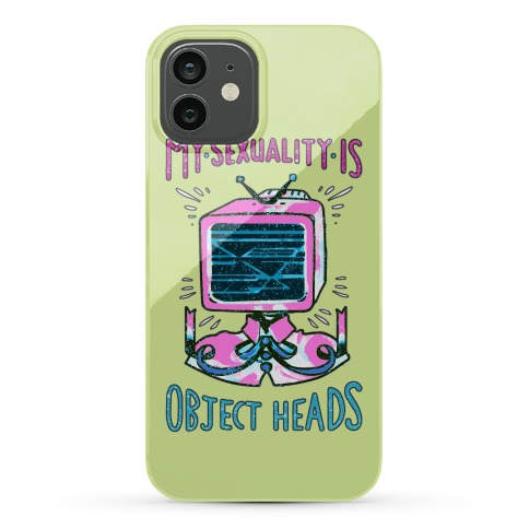 My Sexuality is Object Heads Phone Case