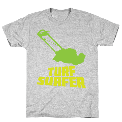 Turf Surfer Mens T-Shirt