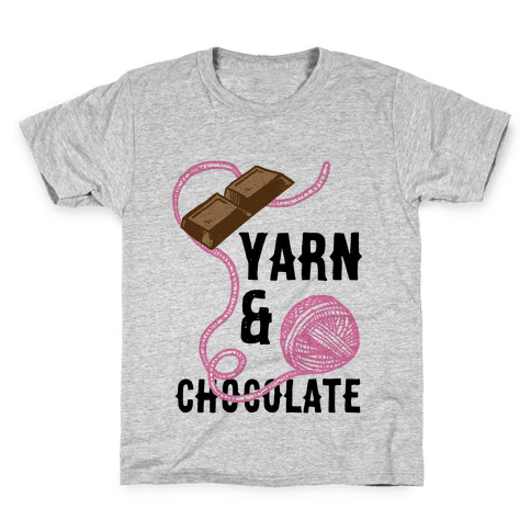 Yarn And Chocolate Kids T-Shirt