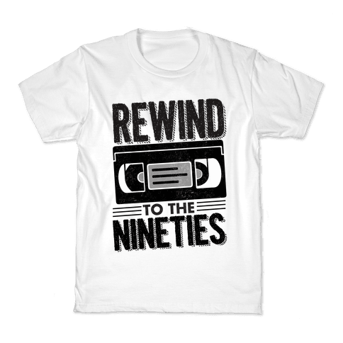Rewind to the Nineties. Kids T-Shirt
