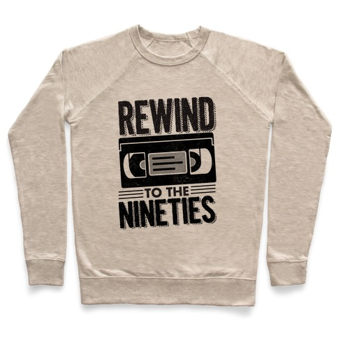 Rewind to the Nineties. Pullover