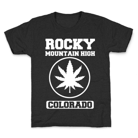 Rocky Mountain High Colorado Kids T-Shirt