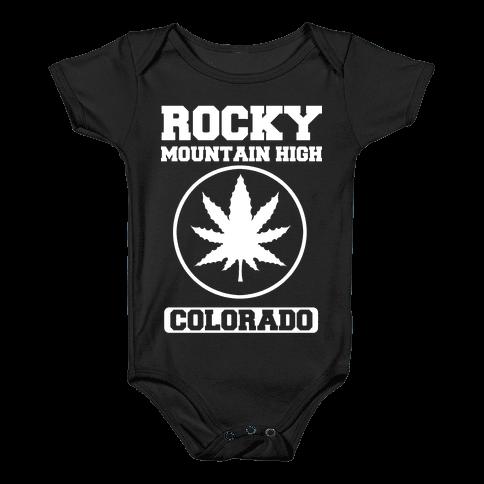 Rocky Mountain High Colorado Baby Onesy