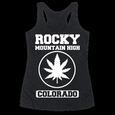 Rocky Mountain High Colorado Racerback Tank Top