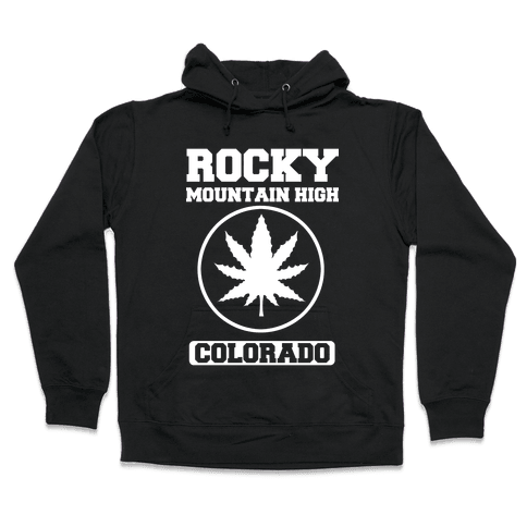 Rocky Mountain High Colorado Hooded Sweatshirt