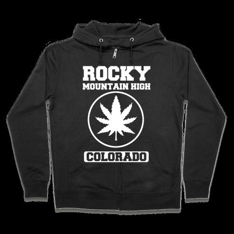 Rocky Mountain High Colorado Zip Hoodie