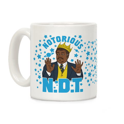 The Notorious N.D.T. Coffee Mug