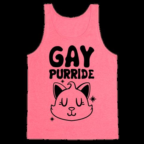 Gay Purride Tank Top