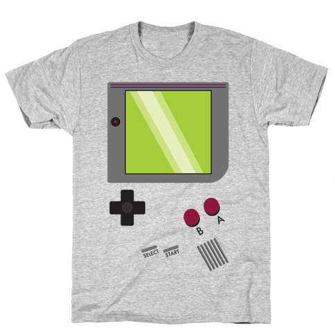 Gameboy Life Mens T-Shirt