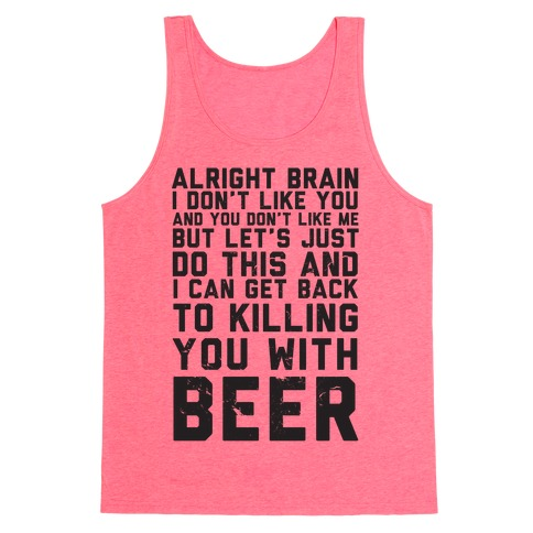Alright Brain Tank Top
