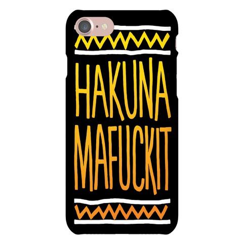 Hakuna MaF***it Case Phone Case