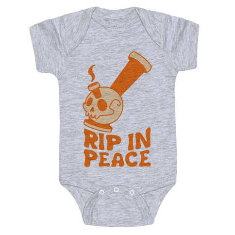 Rip In Peace Baby Onesy