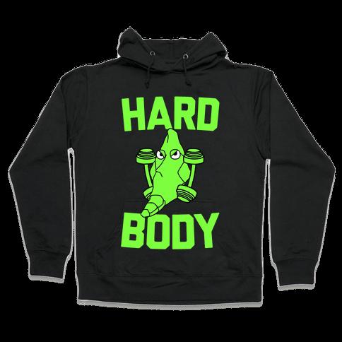 Metapod Got a Hard Body Hooded Sweatshirt