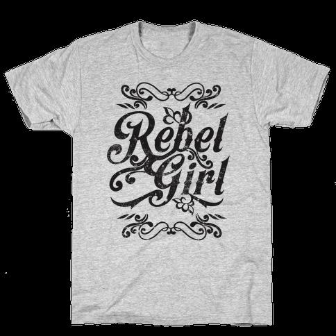 Rebel Girl Mens T-Shirt