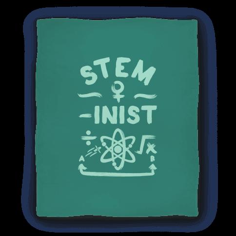 STEM-inist (STEM Field Feminist) Blanket