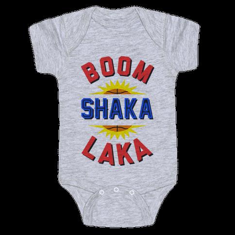 Boom Shaka Laka! Baby Onesy