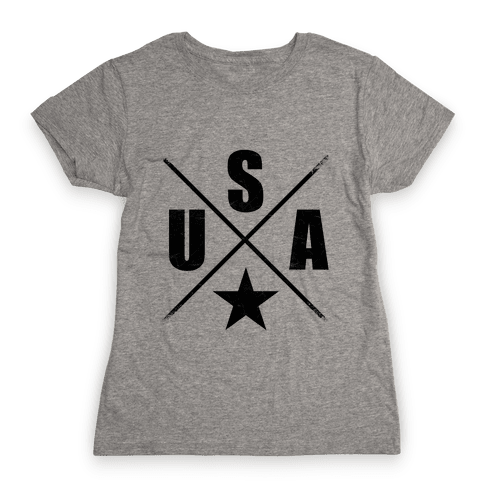 USA Cross Womens T-Shirt