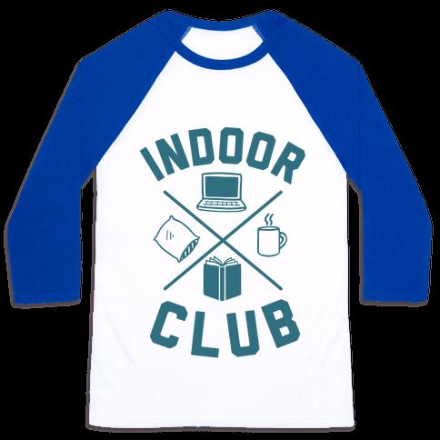 Indoor Club Baseball Tee