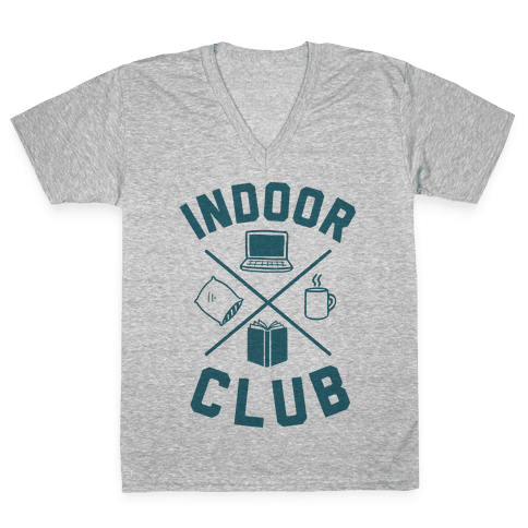 Indoor Club V-Neck Tee Shirt