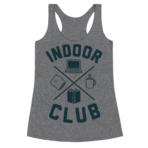Indoor Club Racerback Tank Top