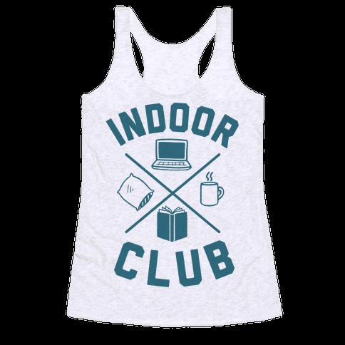Indoor Club Racerback Tank Top