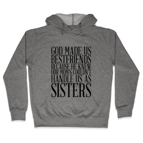 Sisters Tank Hooded Sweatshirt